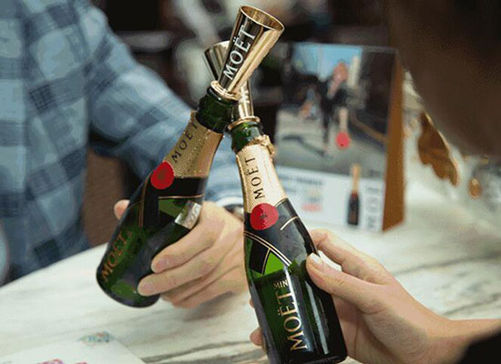 酩悦迷你香槟酒