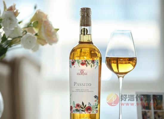 意大利花之语甜白葡萄酒