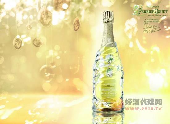 巴黎之花美丽时光2004年份香槟