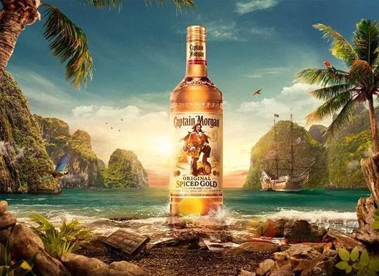 摩根船長金朗姆酒