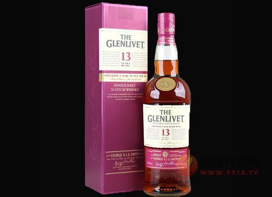 格兰威特13年雪莉桶威士忌