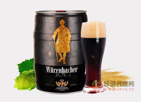 瓦伦丁原装进口小麦黑啤