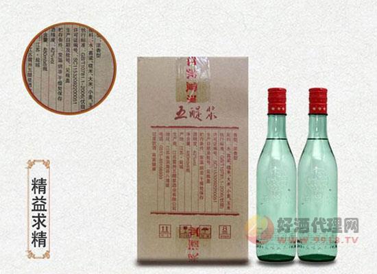 江蘇名酒五醍漿