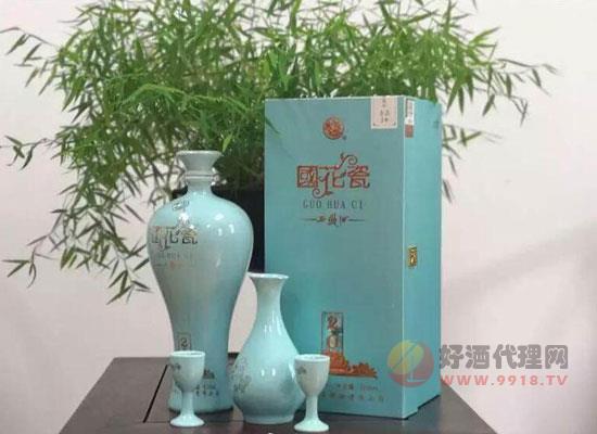 国花瓷青韵20