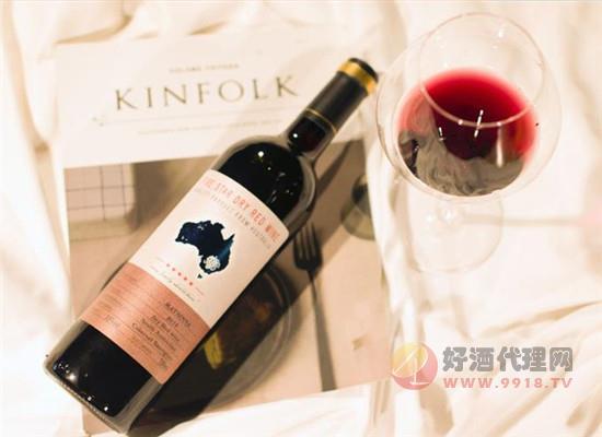 南澳五星干紅葡萄酒