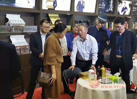 """""""台源?酒""""亮相天津秋糖,高层领导亲临指导慰问!"""