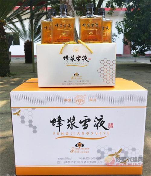 蜂浆雪液蜂蜜酒