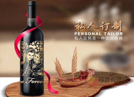 卡素【情有獨鐘】私人訂制紅酒單支版