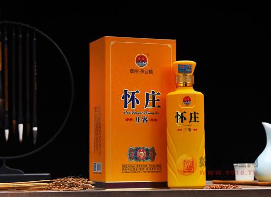 怀庄庄客10年酱酒