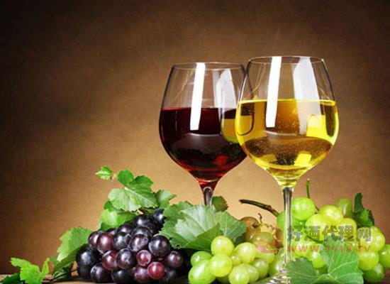 紅白葡萄酒