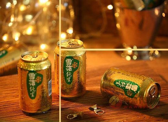 雪花纯生铝罐