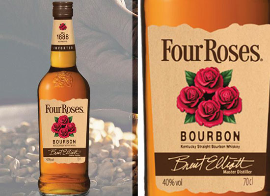 四玫瑰威士忌