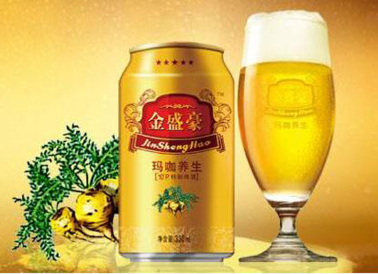 金盛豪瑪咖養生啤酒