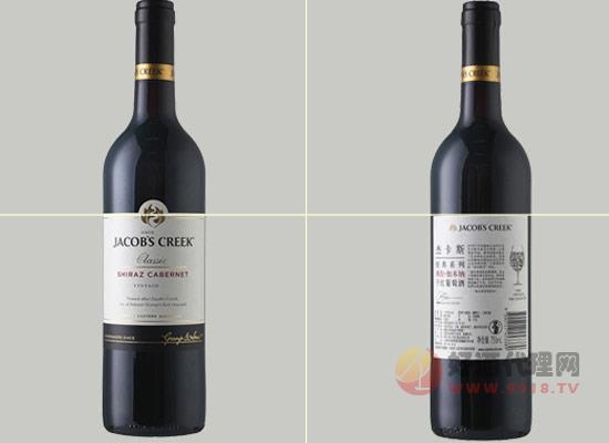 杰卡斯经典西拉干红葡萄酒