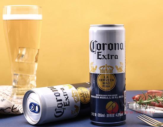 科罗娜啤酒罐装
