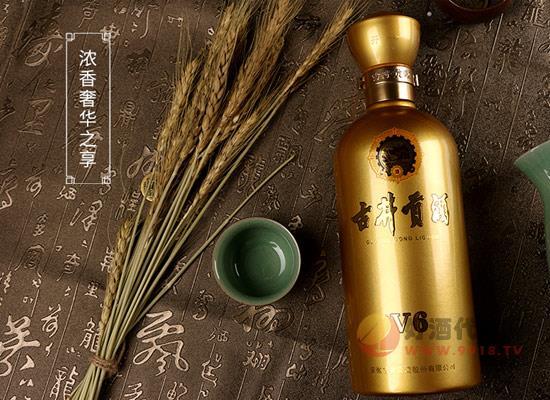 古井貢酒50度V6雙瓶套裝