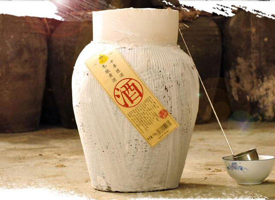 七斤嫂十年陳釀半甜花雕酒