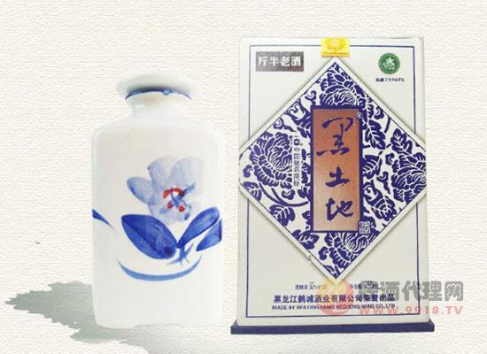 黑龙江特产黑土地酒
