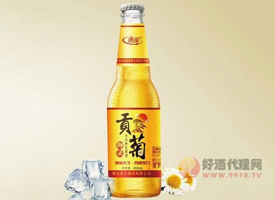 质宝贡菊养生啤酒