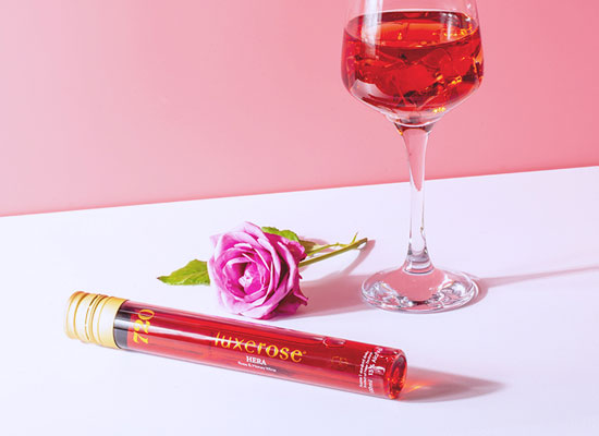 赫拉玫瑰蜂蜜雞尾酒