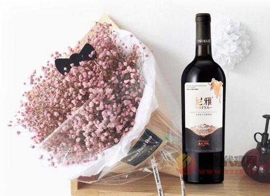 尼雅干红葡萄酒