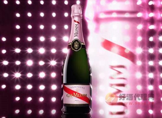 瑪姆桃紅香檳