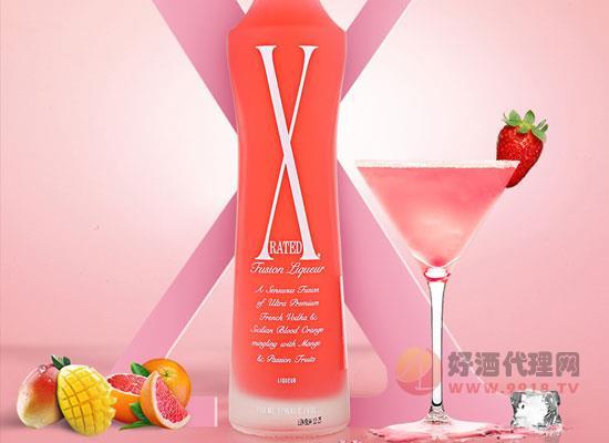 X冰粉紅預調酒
