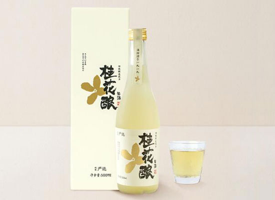桂花釀米酒