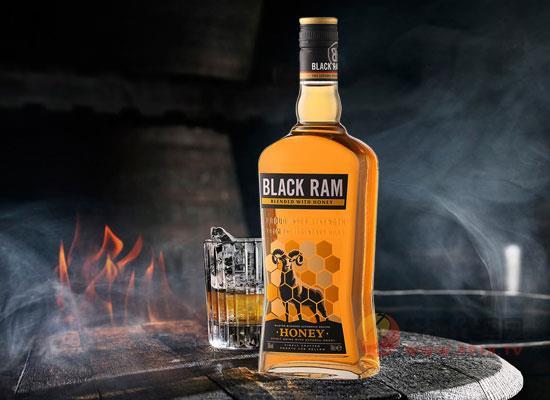 黑公羊蜂蜜威士忌