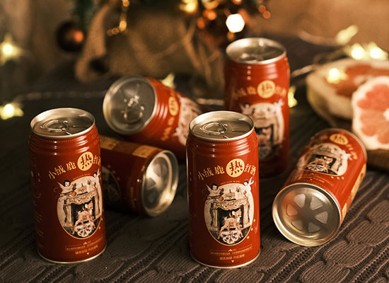 小絨鹿自熱罐紅酒