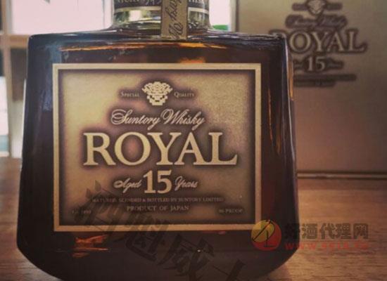 三得利洛雅15金標威士忌