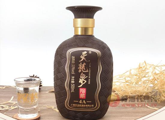 天龍泉陶藏4A白酒