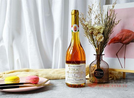 托卡伊金線甜白葡萄酒