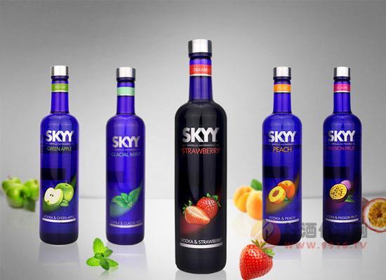 深藍草莓風味利口酒