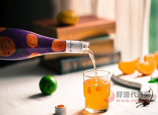 燦陽橘子起泡酒