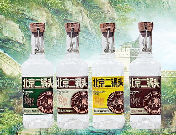 北京二锅头方瓶酒