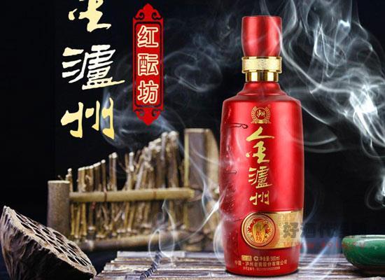 金瀘州紅醞坊酒