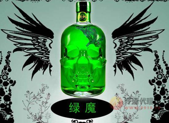 綠骷髏苦艾酒