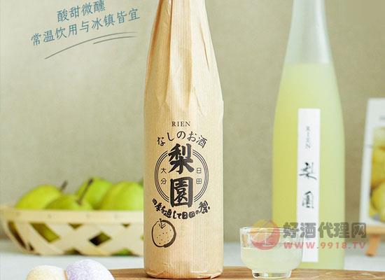 老松酒造梨园梨子酒,