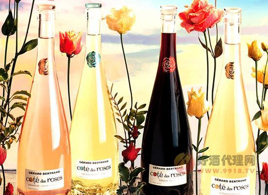 吉哈伯通玫瑰丘系列葡萄酒