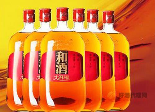 和酒大開福三年(3年)上海老酒價格