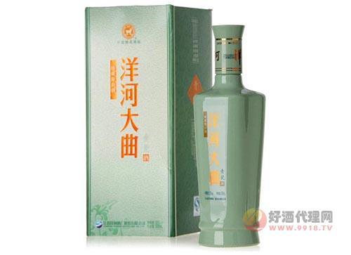 52度洋河大曲青瓷500ml白酒價格