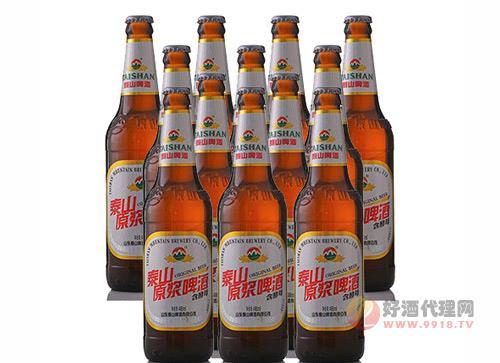 泰山原浆啤酒怎么卖?