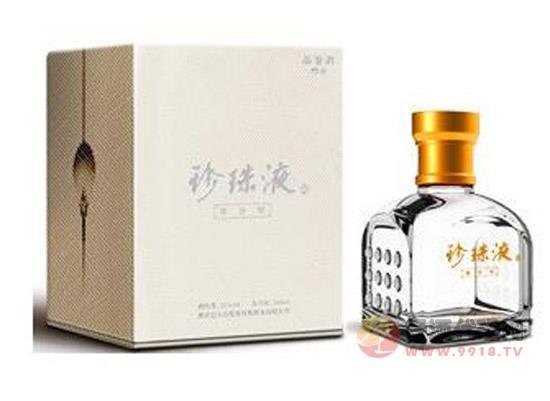 珍珠液酒醬香型-品鑒酒249ml的價格