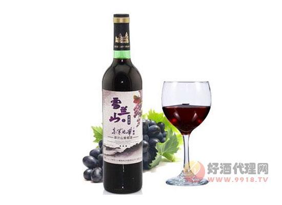 雪蘭山葡萄酒價格表