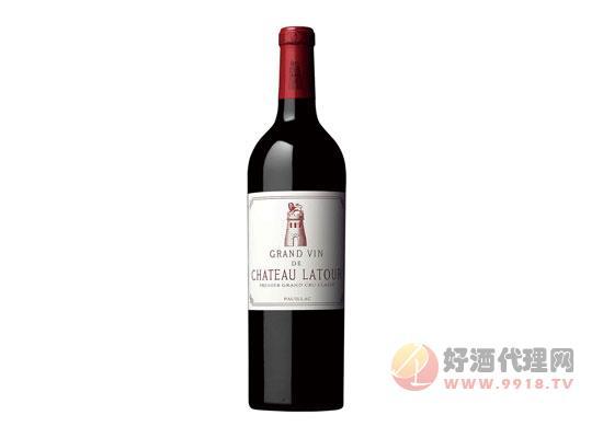 拉圖紅酒價格表
