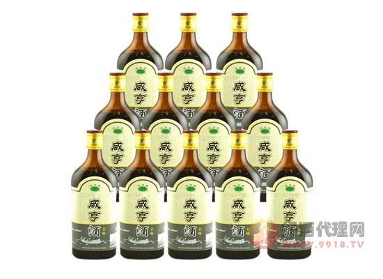 紹興黃酒咸亨酒金標價格 12度 500ml*12瓶