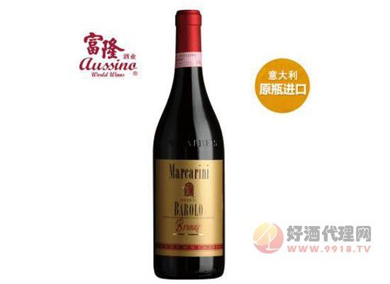 意大利原裝進口馬佳連妮(巴羅露)紅葡萄酒750ml價格