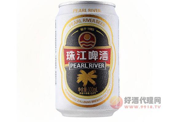 老珠江12度熟啤酒 價格330ml