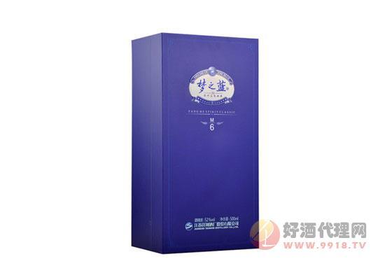綿柔型白酒洋河夢6價格 500ML